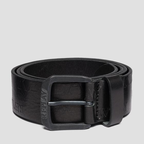 Ceinture en cuir pull up am2529.000.a3007