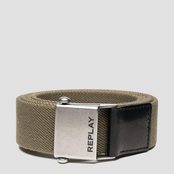 REPLAY belt with sliding buckle am2545.001.a0017