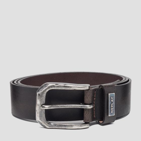Crust leather belt am2554.000.a3001