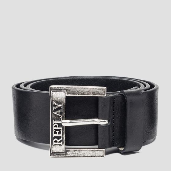 Pull up leather belt am2564.000.a3007