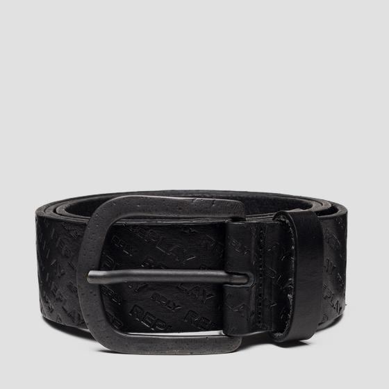 Belt with REPLAY print am2594.000.a3007
