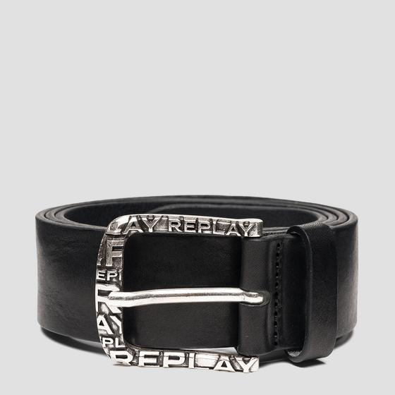 Leather belt REPLAY am2606.000.a3007