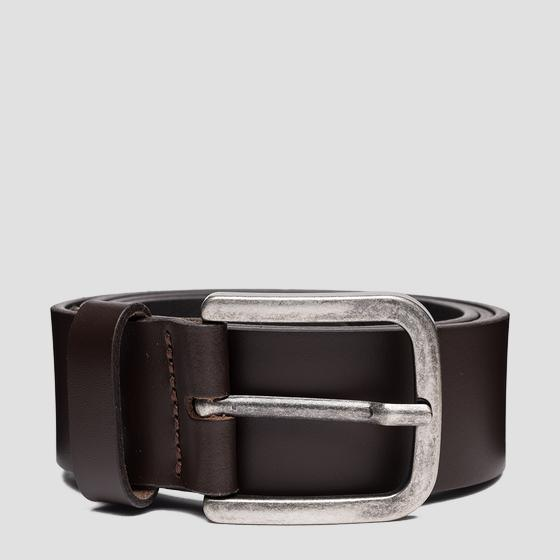 REPLAY smooth leather belt am2619.000.a3001i