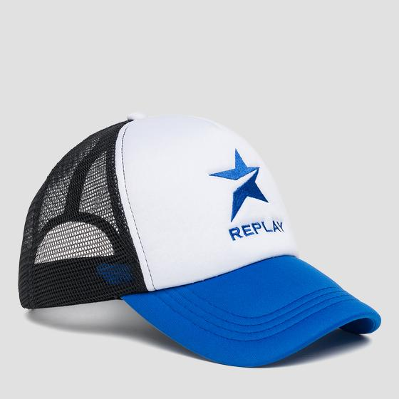 Cap with REPLAY logo am4187.000.a0321