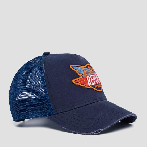 Vintage baseball cap with mesh am4226.000.a0406
