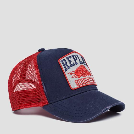 Baseball cap with vintage graphic am4228.000.a0406