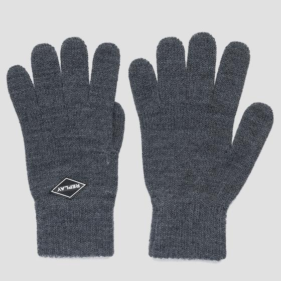 REPLAY knit gloves am6054.000.a7003