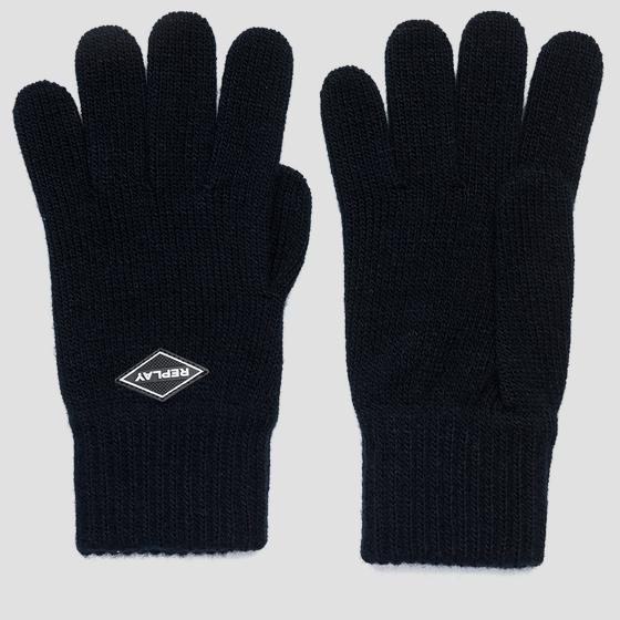 Guantes de punto REPLAY am6054.000.a7003