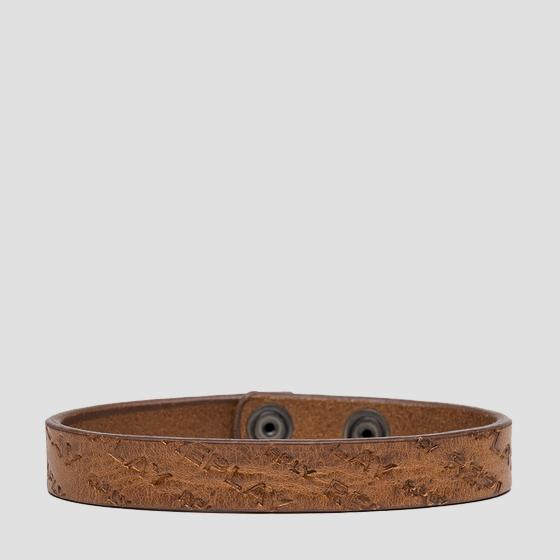 REPLAY leather bracelet am7057.001.a3007