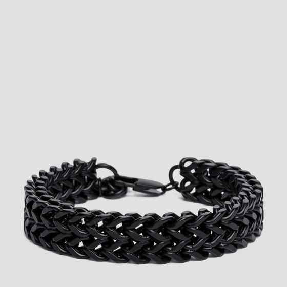 REPLAY bracelet with double weave am7060.000.a6003