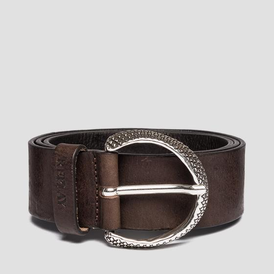 Belt in vintage leather aw2490.000.a3077