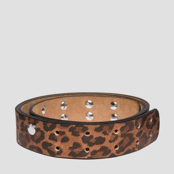 Belt with animalier print aw2491.000.a3000ap