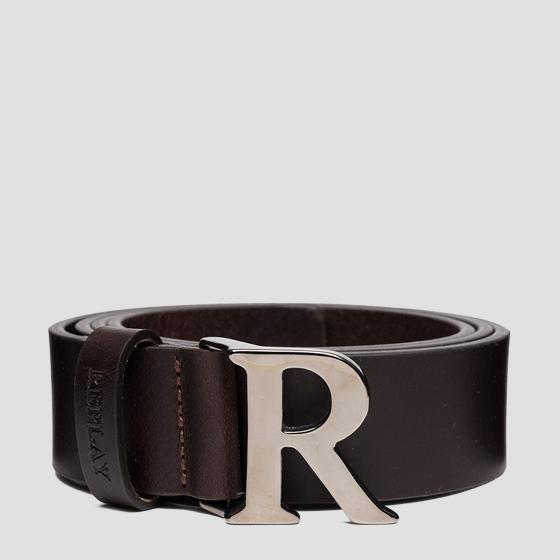 REPLAY smooth leather belt aw2557.000.a3076