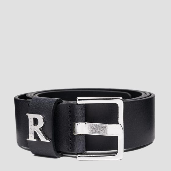 REPLAY belt in brushed leather aw2558.000.a3001