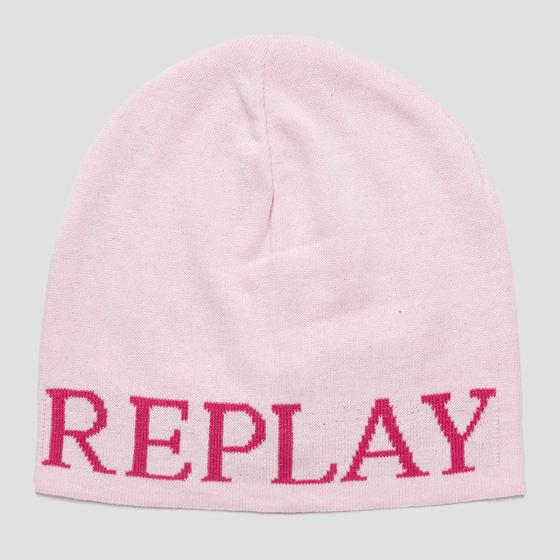 Cap with REPLAY writing aw4203.001.a7059