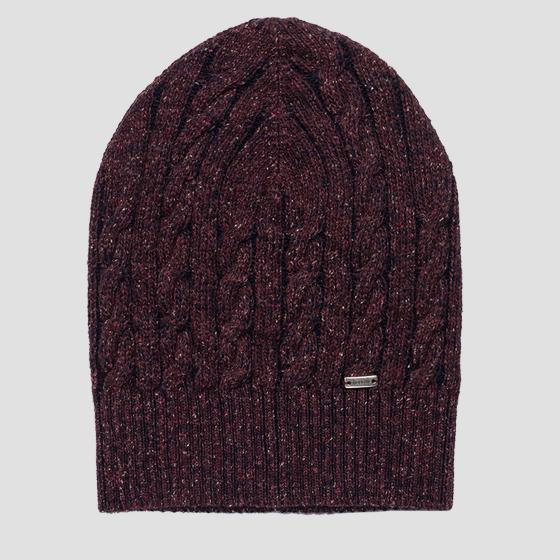 Wool and silk beanie REPLAY aw4251.000.a7098