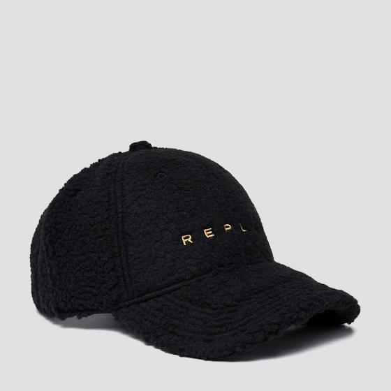 Pile borg cap with bill aw4267.000.a0208a