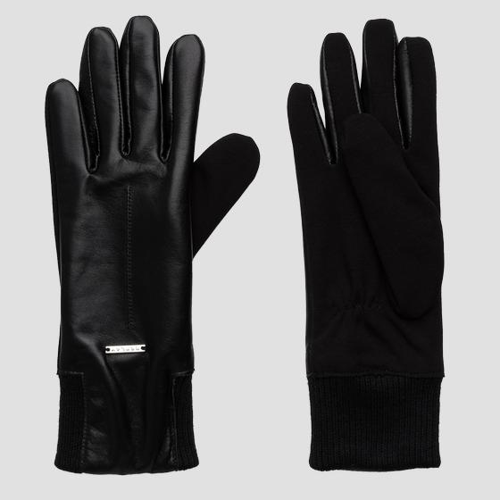 Smooth leather gloves REPLAY aw6068.000.a3142a