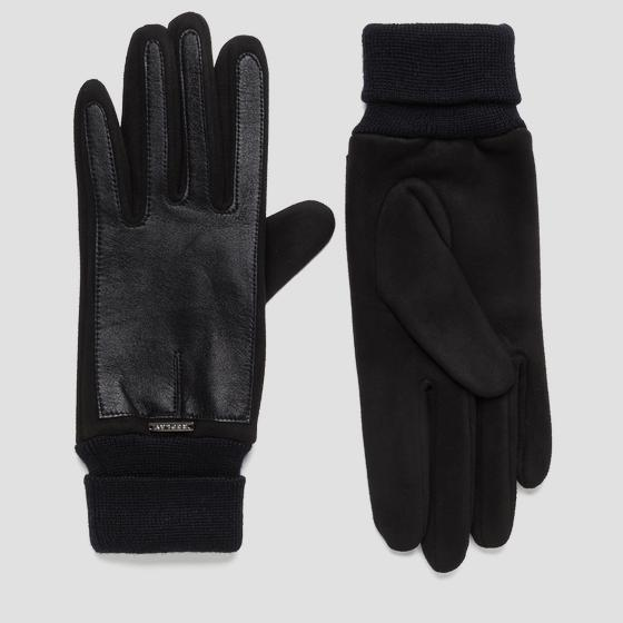 Leather gloves REPLAY aw6069.000.a3055