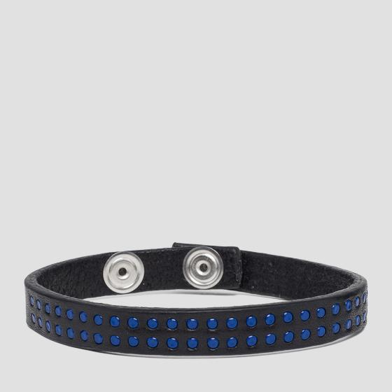 Bracelet with rounded studs aw7155.000.a3007