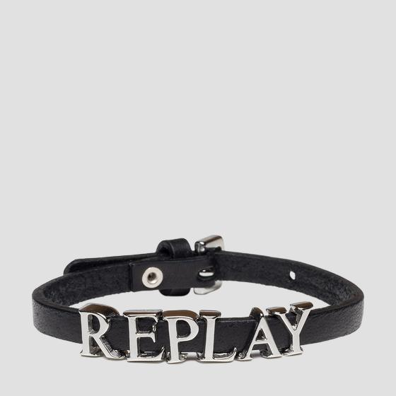 Thin bracelet with charm REPLAY aw7165.000.a3007