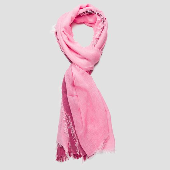 Scarf with faded effect aw9236.000.a0299a