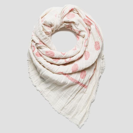 Crinkle scarf aw9256.000.a0199c