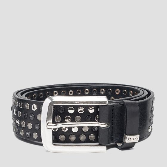 Belt with studs ax2244.000.a3007