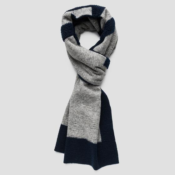 Scarf in wool blend ax9220.000.a0402