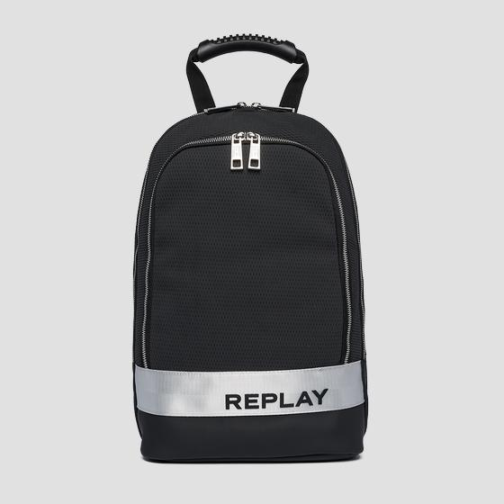 Embossed Replay backpack fm3441.000.a0736