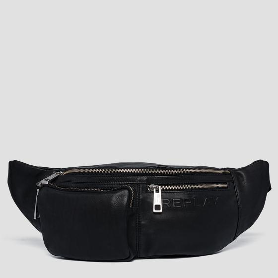 Soft leather waist bag fm3451.000.a3029
