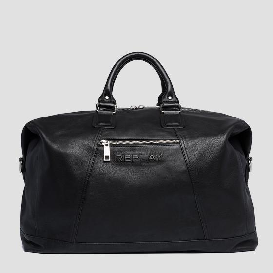 Soft leather duffle bag fm3452.000.a3029