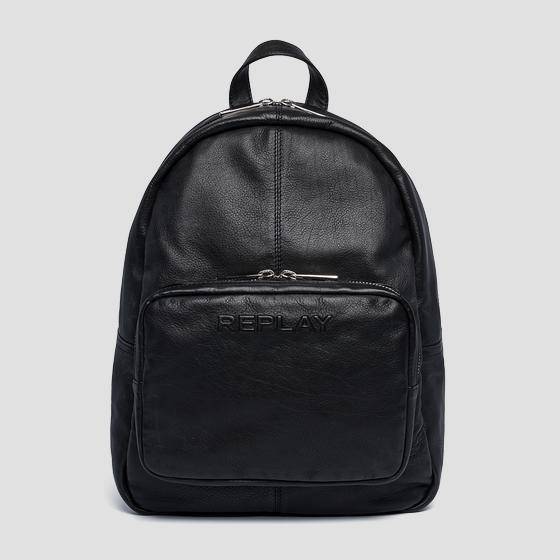 Soft leather backpack fm3453.000.a3029