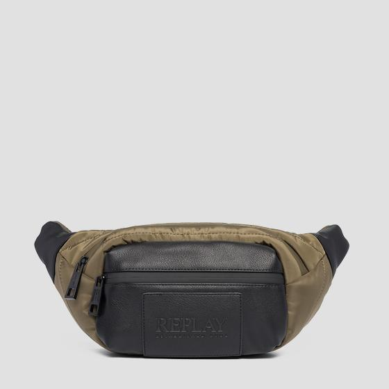 Quilted nylon waist bag fm3479.000.a0341a
