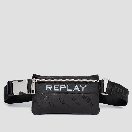 REPLAY waist bag with saffiano effect fm3495.000.a0283d