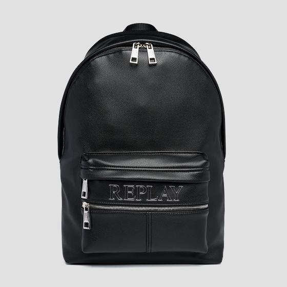 Solid-coloured REPLAY backpack fm3517.000.a0438