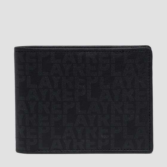 Wallet with lettering print fm5151.000.a3071b