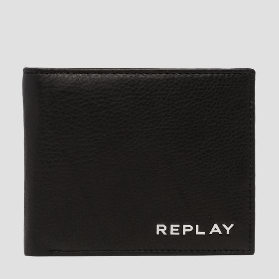 Wallet in hammered leather fm5161.000.a3146