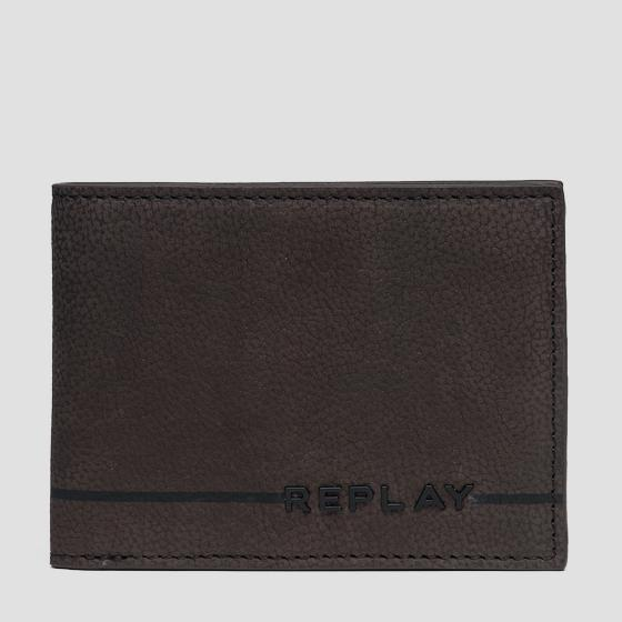 Leather wallet with zipper fm5164.000.a3052c