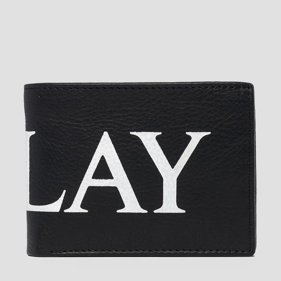 Leather wallet REPLAY fm5191.000.a3178