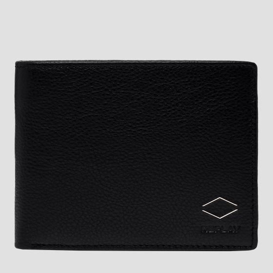 Hammered leather wallet fm5237.000.a3063b