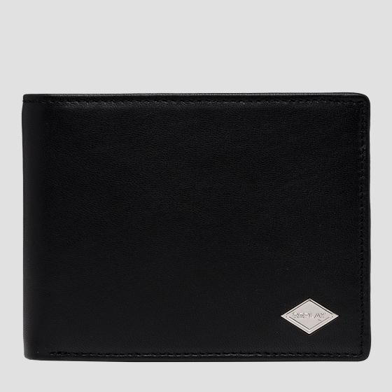 REPLAY smooth leather wallet fm5242.000.a3063