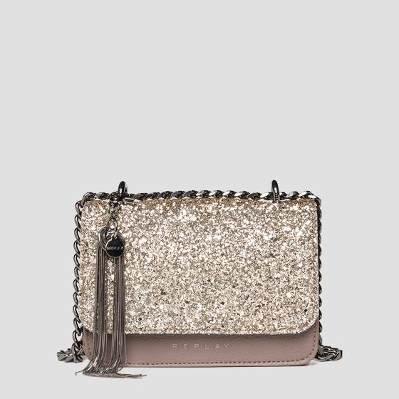 Glitter crossbody bag REPLAY fw3001.004.a0327