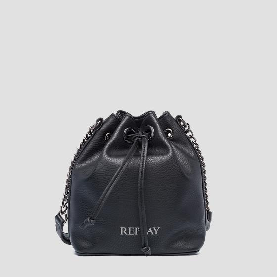 REPLAY bucket bag with strap fw3005.000.a0132d