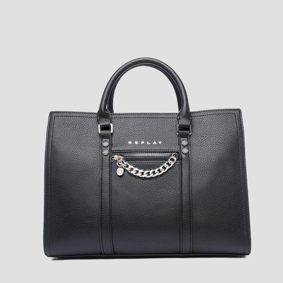 Tote bag con charm REPLAY fw3016.001.a0132d