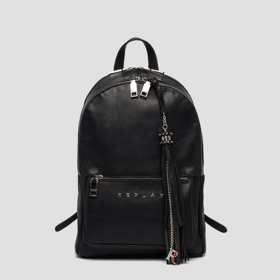 Backpack in plain cow leather fw3058.000.a3127c