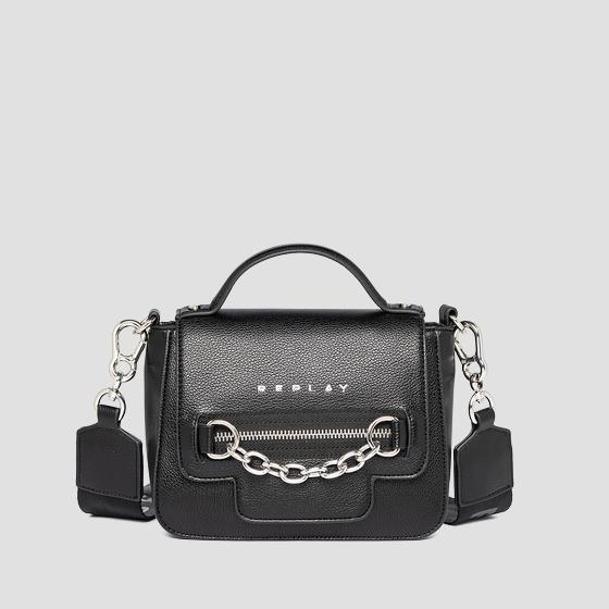 REPLAY handbag with shoulder strap fw3092.000.a0363c