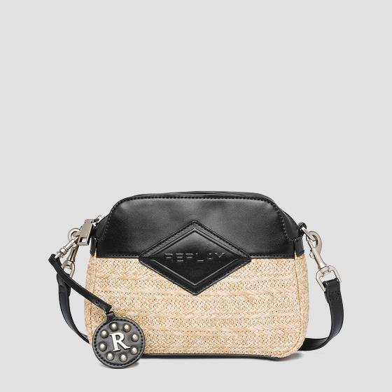 REPLAY crossbody bag in raffia fw3110.000.a0295