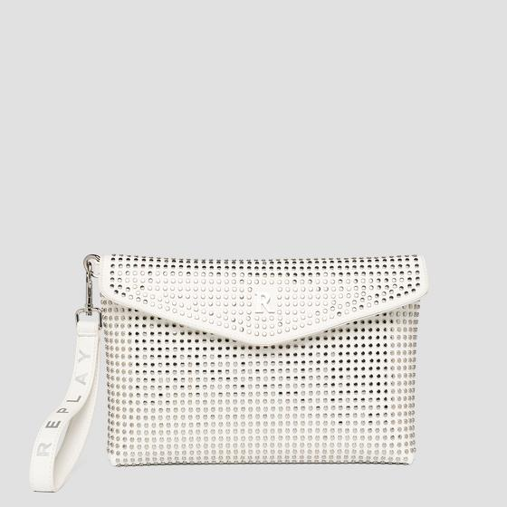 REPLAY flat purse with studs fw3131.000.a0132d