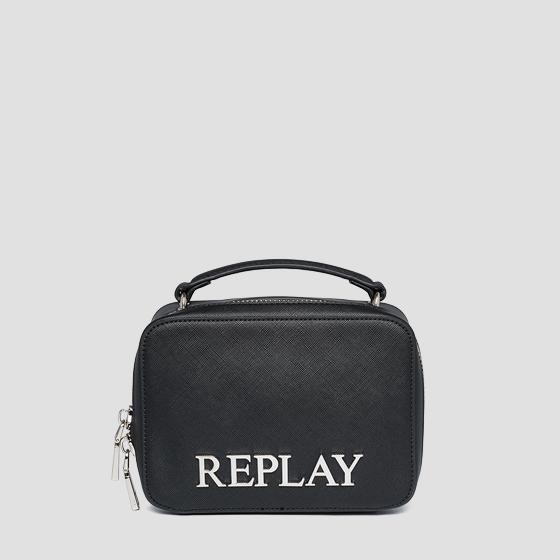 REPLAY rigid bag with saffiano effect fw3140.000.a0283